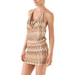 NEW Haute Hippie Chevron Sequined Mini Dress - NWT